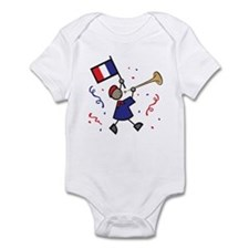 France Holiday Infant Bodysuit