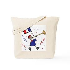 France Holiday Tote Bag