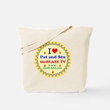I HEART Pat and Stu Tote Bag