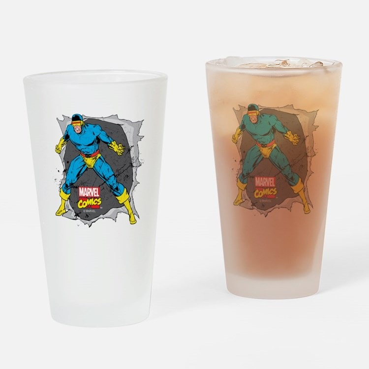 Cyclops X-Men Drinking Glass
