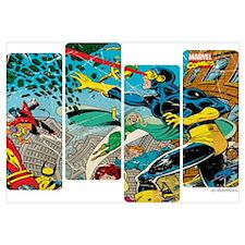 Cyclops Comic Panel Wall Art