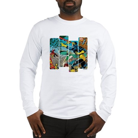 Cyclops Comic Panel Long Sleeve T-Shirt