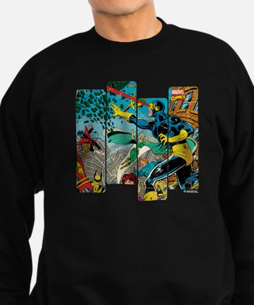 Cyclops Comic Panel Sweatshirt (dark)