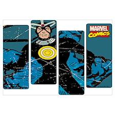Havok Comic Panel Wall Art