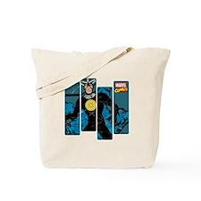 Havok Comic Panel Tote Bag