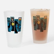 Havok Comic Panel Drinking Glass