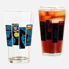 Havok Comic Panel Drinking Glass