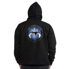 F-35 Lightning II Zip Hoodie (Dark)