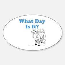 What Day Is It Decal