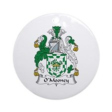O'Mooney Ornament (Round)