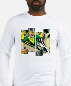 Banshee Comic Panel Long Sleeve T-Shirt