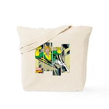 Banshee Comic Panel Tote Bag