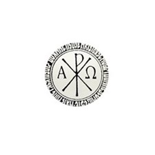 Funny Christ's cross Mini Button (10 pack)