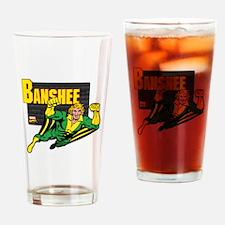 Banshee X-men Drinking Glass