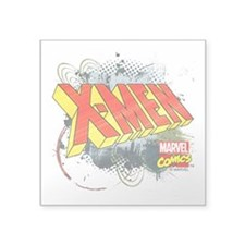 "Classic X-Men Square Sticker 3"" x 3"""