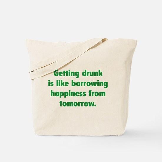 Borrowing Happiness Tote Bag