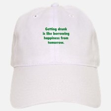 Borrowing Happiness Baseball Baseball Cap