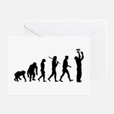 Electrician Sparky Greeting Cards