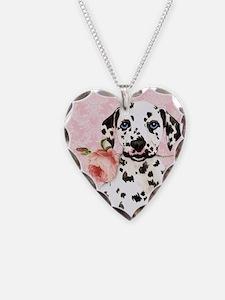 Dalmatian Rose Necklace