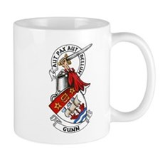 Gunn Arms and Crest Mugs
