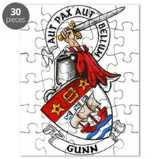 Gunn Arms And Crest Puzzle