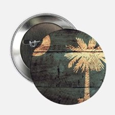 """Wooden South Carolina Flag3 2.25"""" Button (10 pack)"""