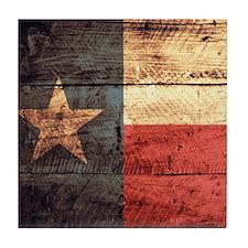 Wooden Texas Flag3 Tile Coaster