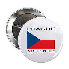 """Prague, Czech Republic 2.25"""" Button (10 pack)"""