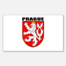 Prague, Czech Republic Rectangle Decal