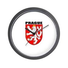 Prague, Czech Republic Wall Clock