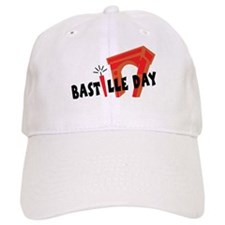 Bastille Day Baseball Cap