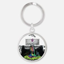 twenty one pilots self-titled album Round Keychain
