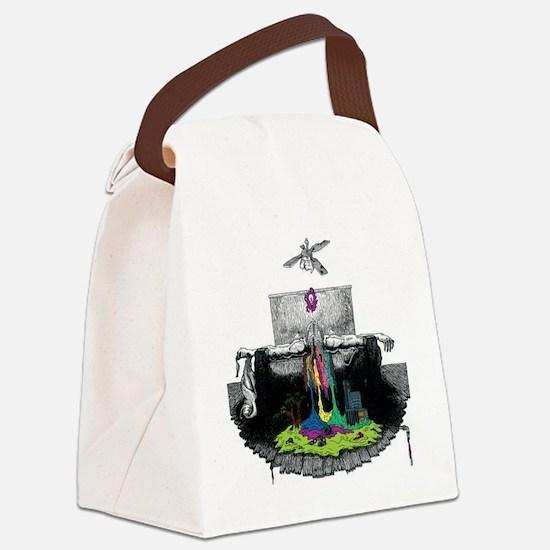 twenty one pilots self-titled alb Canvas Lunch Bag