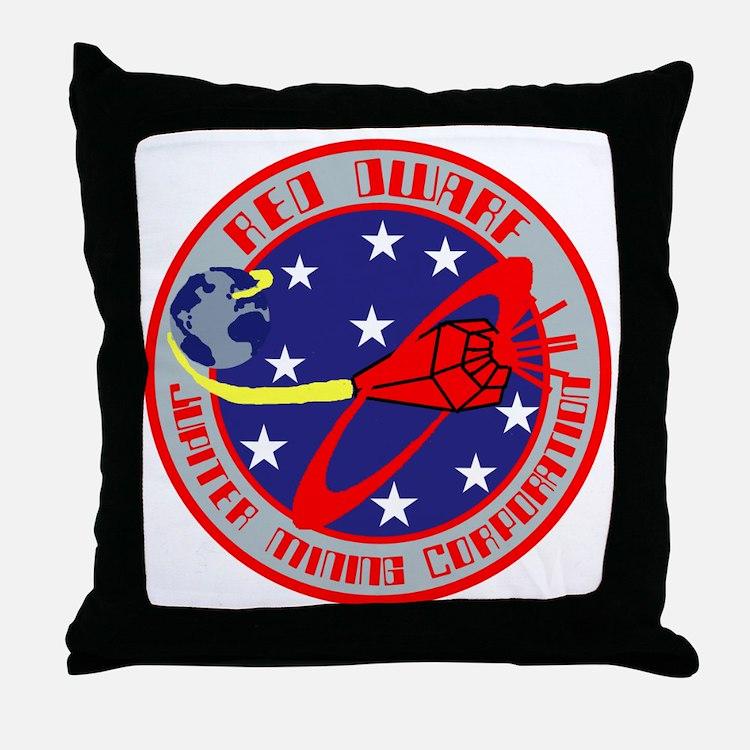 Jupiter Mining Corporation Throw Pillow