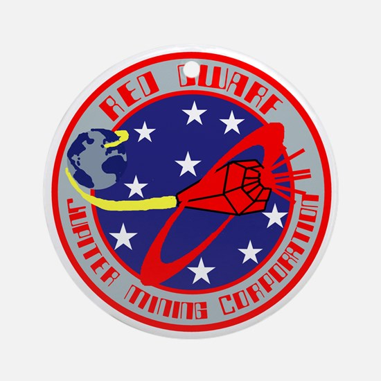 Jupiter Mining Corporation Round Ornament