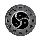 Bdsm symbol Wall Clocks