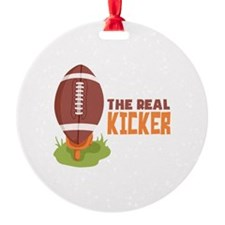 The Real Kicker Ornament