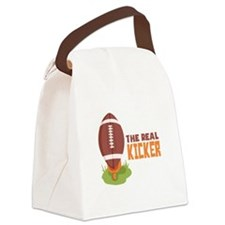 The Real Kicker Canvas Lunch Bag