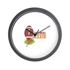 The Real Kicker Wall Clock