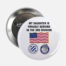 Daughter is Serving in the 3ID - Button