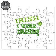 Irish I Were Irish St Patricks Day Humor Puzzle