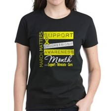 Support Endometriosis Awareness Month T-Shirt