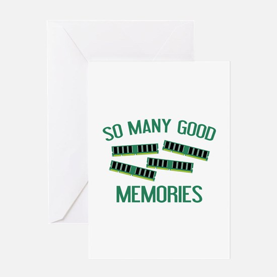 So Many Good Memories Greeting Card