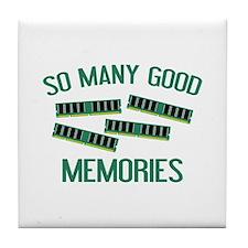 So Many Good Memories Tile Coaster