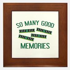 So Many Good Memories Framed Tile