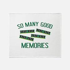 So Many Good Memories Stadium Blanket