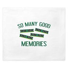So Many Good Memories King Duvet