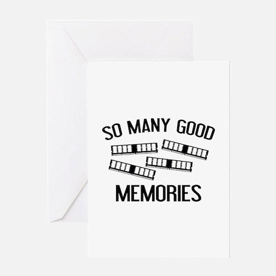So Many Good Memories Greeting Card