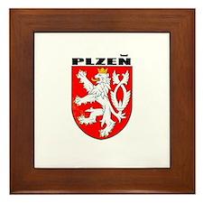 Plzen, Czech Republic Framed Tile