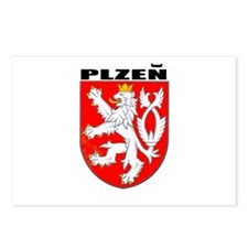 Plzen, Czech Republic Postcards (Package of 8)